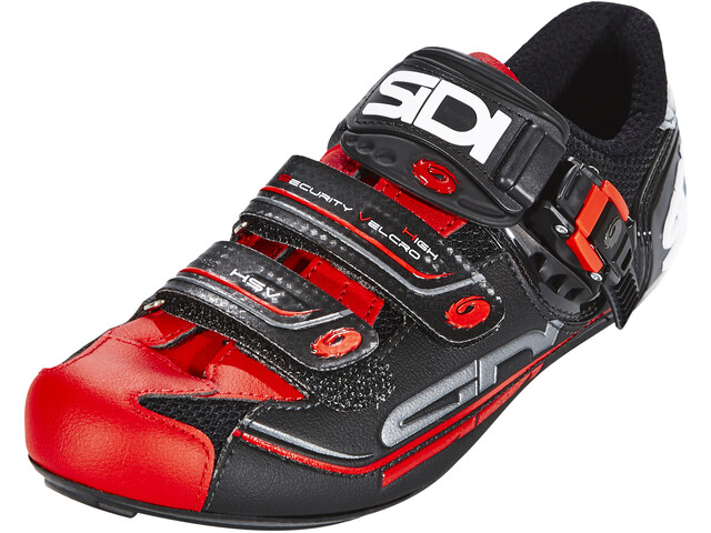 Sidi Genius 7 Shoes Herren black/red